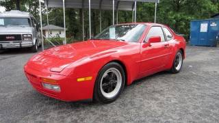 1986 Porsche 944 Turbo 5-spd Start Up, Exhaust, and In Depth Tour