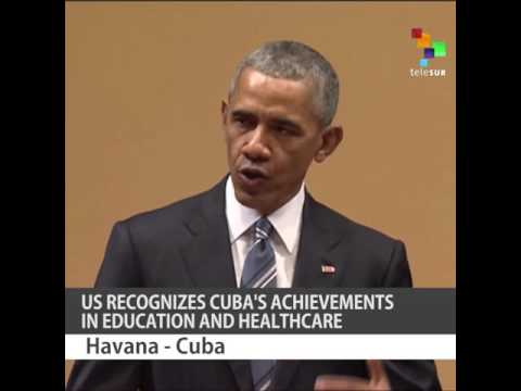 US Recognizes Cuba's Achievements in Education and Healthcare