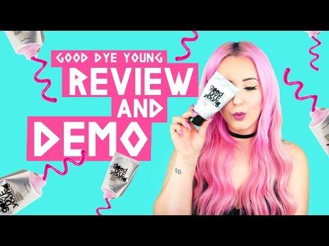 Good Dye Young Hair Dye Review + Demo! | by tashaleelyn