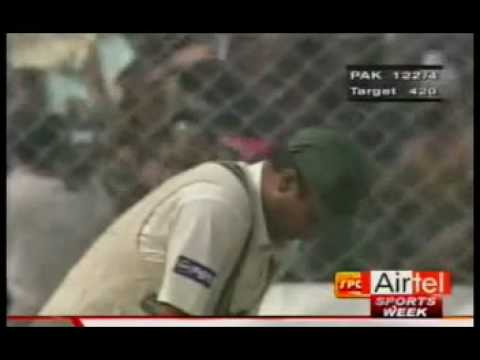 Anil Kumble 10 Wicket Haul  [ India Vs Pakistan, 2nd Test, Delhi, February 4-8, 1999] video