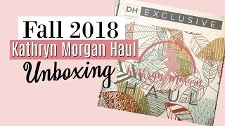 Fall 2018 Kathryn Morgan Haul Unboxing - Subscription Box for Dancers!