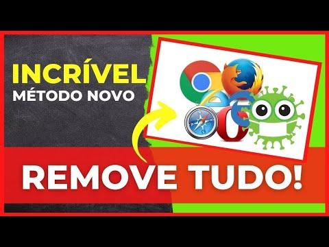 Como remover vírus QQOVD. 123rede. hao123. TOP8844. searchult