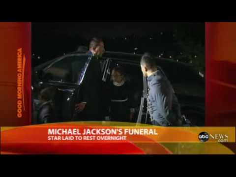 Michael Jackson Laid to Rest - Liz Taylor, Macaulay Culkin, LMP attended