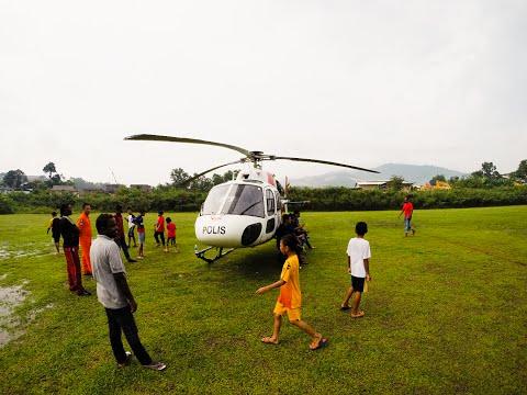 Emergency helicopter landing in Rawang Part 2