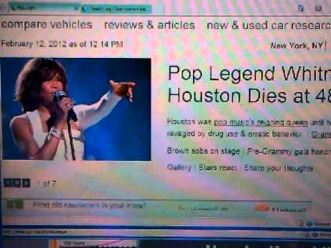 Pt2 WHITNEY HOUSTON RIP 2012 LA