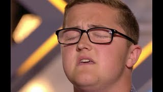 Big Voice Daniel Blows Judges Away With Elton John's Your Sing | Audition 2 | The X Factor UK 2017