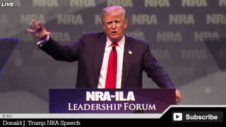 Donald Trump NRA Speech HD ✔
