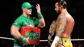 John Cena cashes in his MITB Contract on CM Punk - RAW 1000