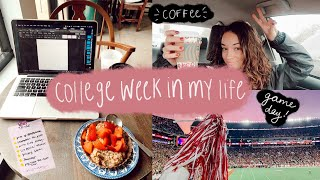 COLLEGE WEEK IN MY LIFE: test grades & what it's like to be a double major, youtuber, + TA!
