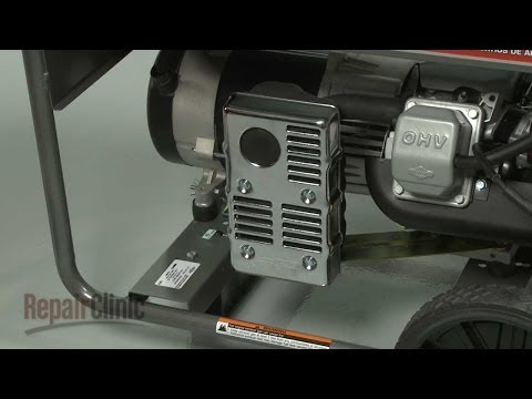 Muffler - Briggs and Stratton Generator