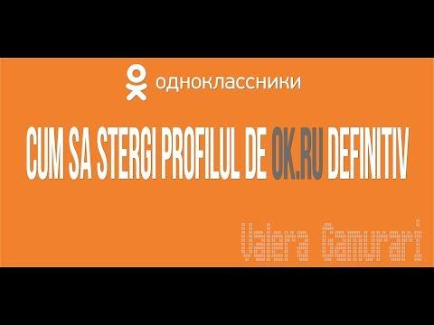Cum Stergi Profilul de Odnoklassniki.ru definitiv