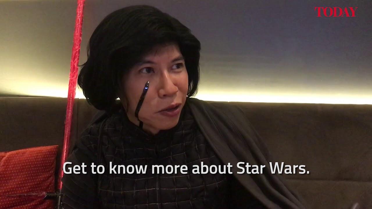 Star Wars fan books 170-theatre to watch The Last Jedi