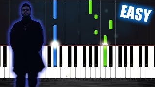 Download Lagu The Weeknd - Call Out My Name - EASY Piano Tutorial by PlutaX Gratis STAFABAND