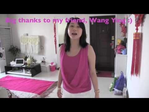 Chinese House/Apartment Tour-Learn Chinese with Emma