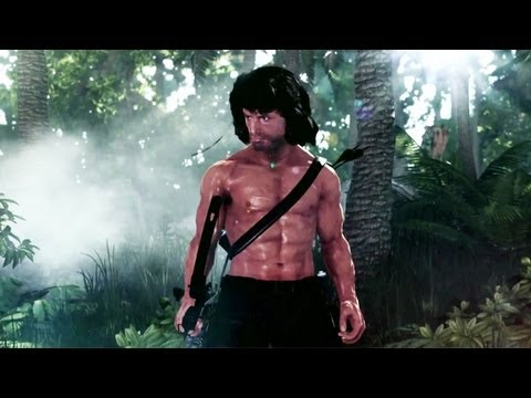 Rambo The Video Game Official Trailer video