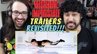 MISSION: IMPOSSIBLE (1996) - TRAILERS REVISITED!!! (How Accurately Portrayed Was The Movie?!)