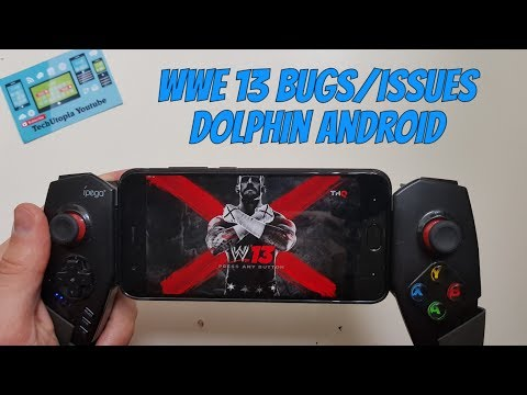WWE '13 Wii Game Play Android smartphone test Dolphin emulator/Bugs/Issues/Problems/Please Help!
