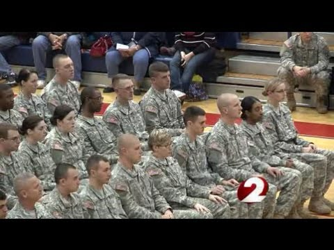 Ohio Army National Guard Troops leave for year-long deployment to Afghanistan