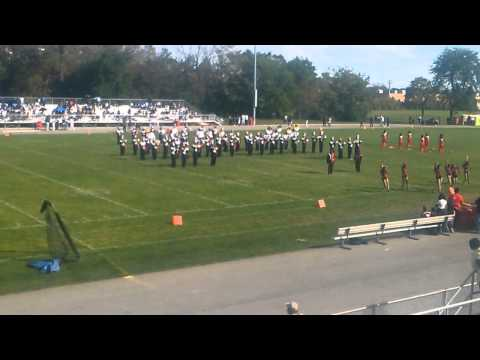 Proviso West High School Field Show 9-27-14
