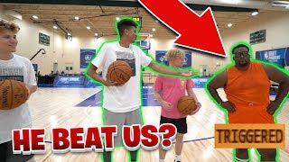 NBA DRAFT COMBINE SHOOTING CHALLENGE! vs. Spice Adams