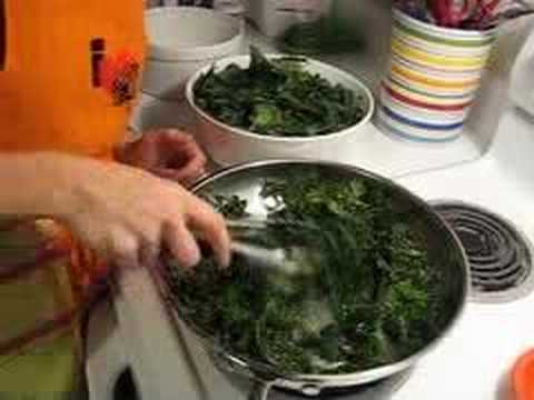 how to cook kale easy