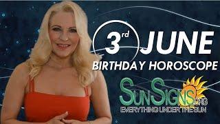 Birthday June 3rd Horoscope Personality Zodiac Sign Gemini Astrology