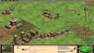 Aoe2 African Kingdoms: Expert 3v3s #2 (Game 5/5) (Valley)