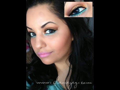 maquillaje con lentes de contacto ft glameyez