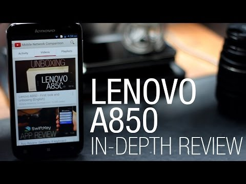 Lenovo A850 - In-depth review (English)
