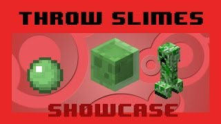 Throw Slimes using Slimeballs