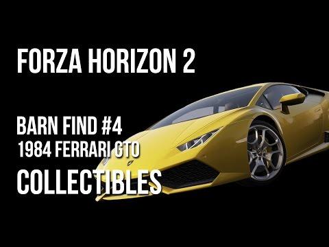 Forza Horizon 2 Barn Find #4 Location Guide - 1984 Ferrari GTO