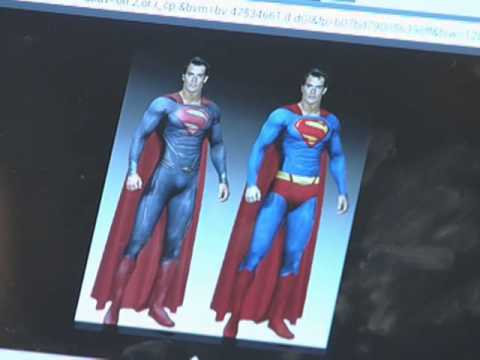 'Man of Steel' suit gets makeover