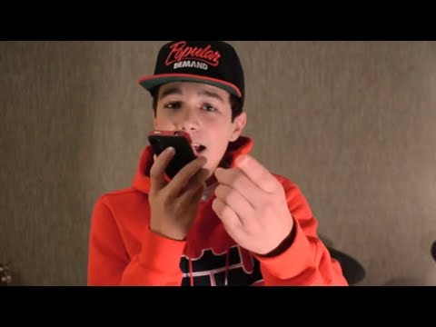 """Say Somethin"" Sing! app fan video"
