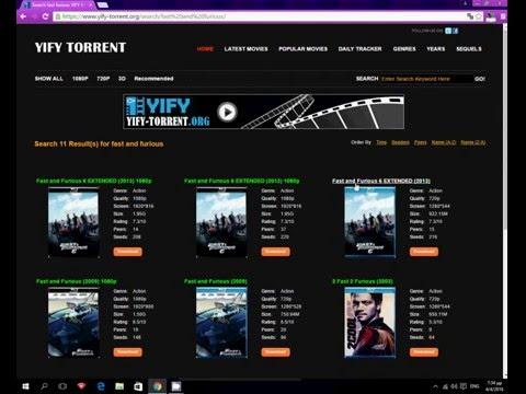 Πώς να κατεβάζετε δωρεάν ταινίες από το yify-torrent! How to download free movies from yify-torrent! streaming vf