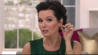 14K Gold Polished Hoop Earrings on QVC