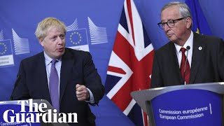 'A very good deal': Johnson and Juncker announce new Brexit agreement