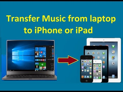 Transfer Music from laptop to iPhone or iPad!  Howtosolveit