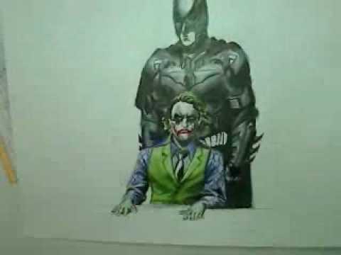 Cool Joker Drawings Batman And Joker Drawing