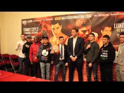 POINT OF NO RETURN - HULL - ICE ARENA - 25TH OCT 2014 - LUKE CAMPBELL, TOMMY COYLE & JAMIE McDONNELL