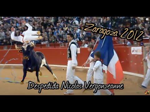 Espectáculo celebrado en Zaragoza el 13 de Octubrede 2012, donde se retiró el único hombre capaz de saltar al toro Ratón! El festejo contócon la participació...
