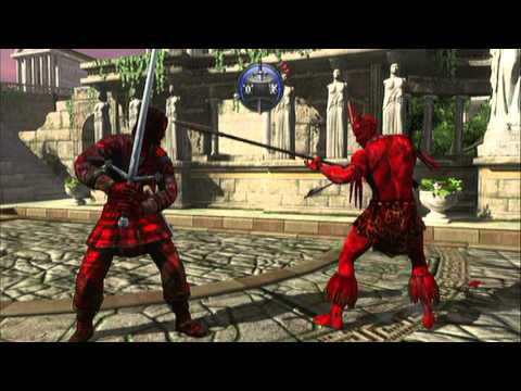 Deadliest Warrior Zombie Mode Gameplay video