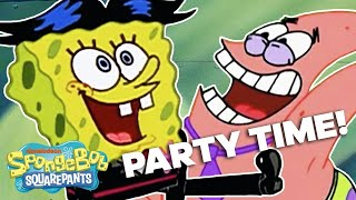 Top 7 SpongeBob Party Moments! 🎉 | #SpongeBobSaturdays