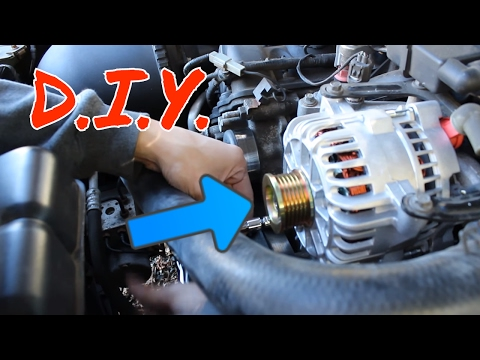 How to change an alternator on a 99-04 mustang gt