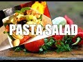 Easy pasta salad and DELICIOUS PASTA SALAD Easy Ways To Make | Chef Ricardo Cooking