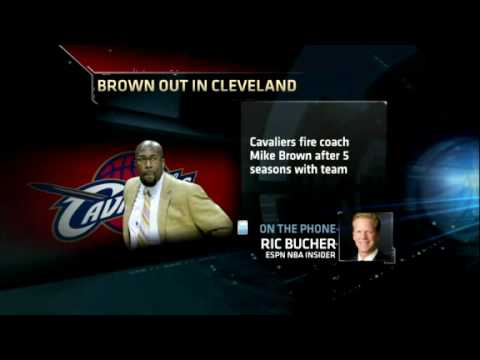 Cleveland Cavaliers fire head coach Mike Brown after 5 seasons, no NBA titles - ESPN