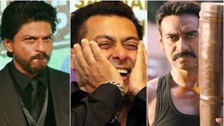 Ajay Devgn and Shah Rukh fight for Salman Khan!