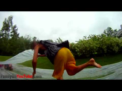 Slip n Slide FAIL Compilation