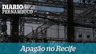 Curto-circuito causa apag�o no Recife