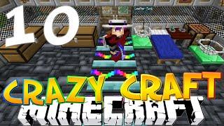 "Minecraft CRAZY CRAFT 3.0 #10 ""ULTIMATE PICKAXE & DISCO BLOCK!"" (Crazy Craft SMP)"