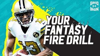 NFL Week 2 Fantasy Football Advice | Your Fantasy Fire Drill
